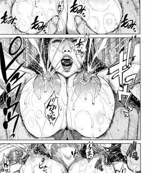 【エッチ漫画】元カレと再会した人妻は赤ちゃんに母乳与えながら他人棒でミルク撒き散らしアクメ!