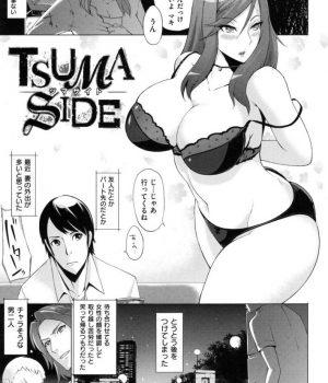 【アダルトコミック】ネット動画サイトの人気AV嬢だった淫売娼婦妻を見て絶望しながらオナニーで射精する夫!