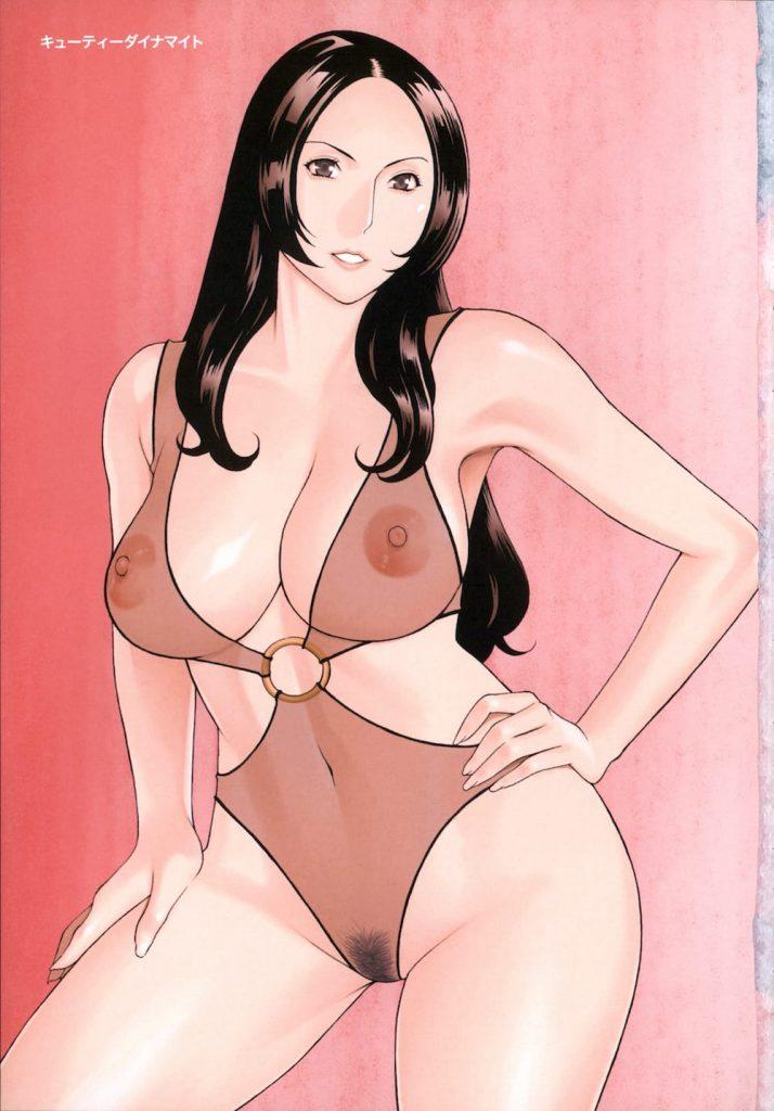 【エロ漫画】プロダクション社長の熟女がアイドルオーディションで発掘した男の娘のデカチンでポルチオアクメ!