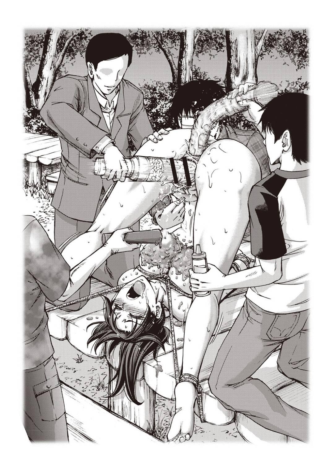 【エロ漫画】色んな美女の脱糞シーン集