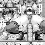 【エロ漫画】宝を探しにきた女剣士は、遺跡に入るとエッチな試練が待ち構えていて、エロい鎧を着せられ勃起したモンスター達に輪姦乱交レイプで二穴責められアクメ堕ち!