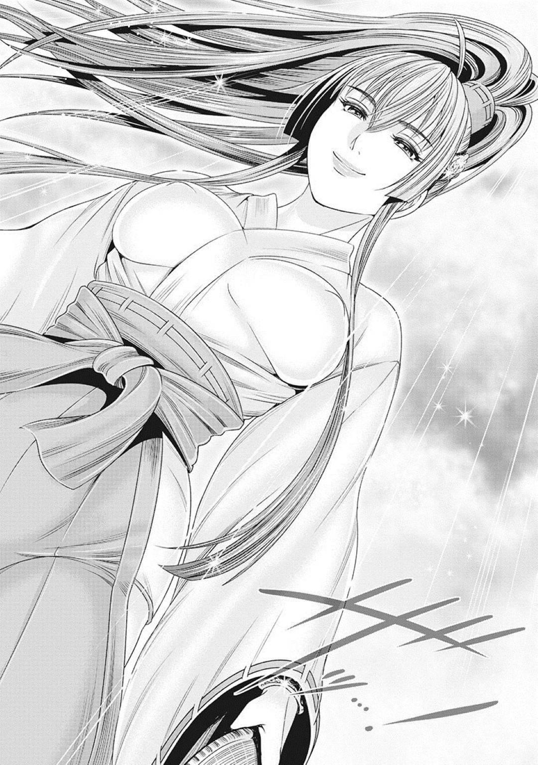 【エロ漫画】戦いが終わり、それぞれの道へと歩みだした歩き巫女達。九尾も同様、武田流の術を極めて歩き巫女として旅へと出るのだった。